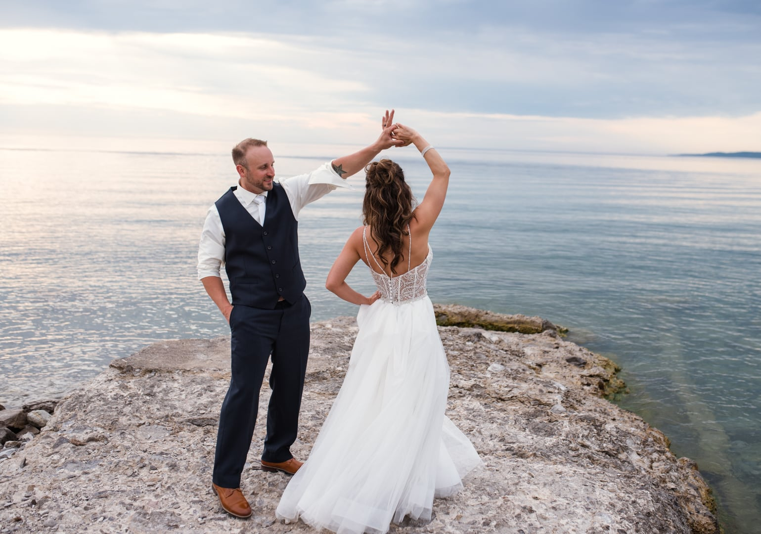 Nick and Nicole Bay Harbor Inn Wedding Photography-697