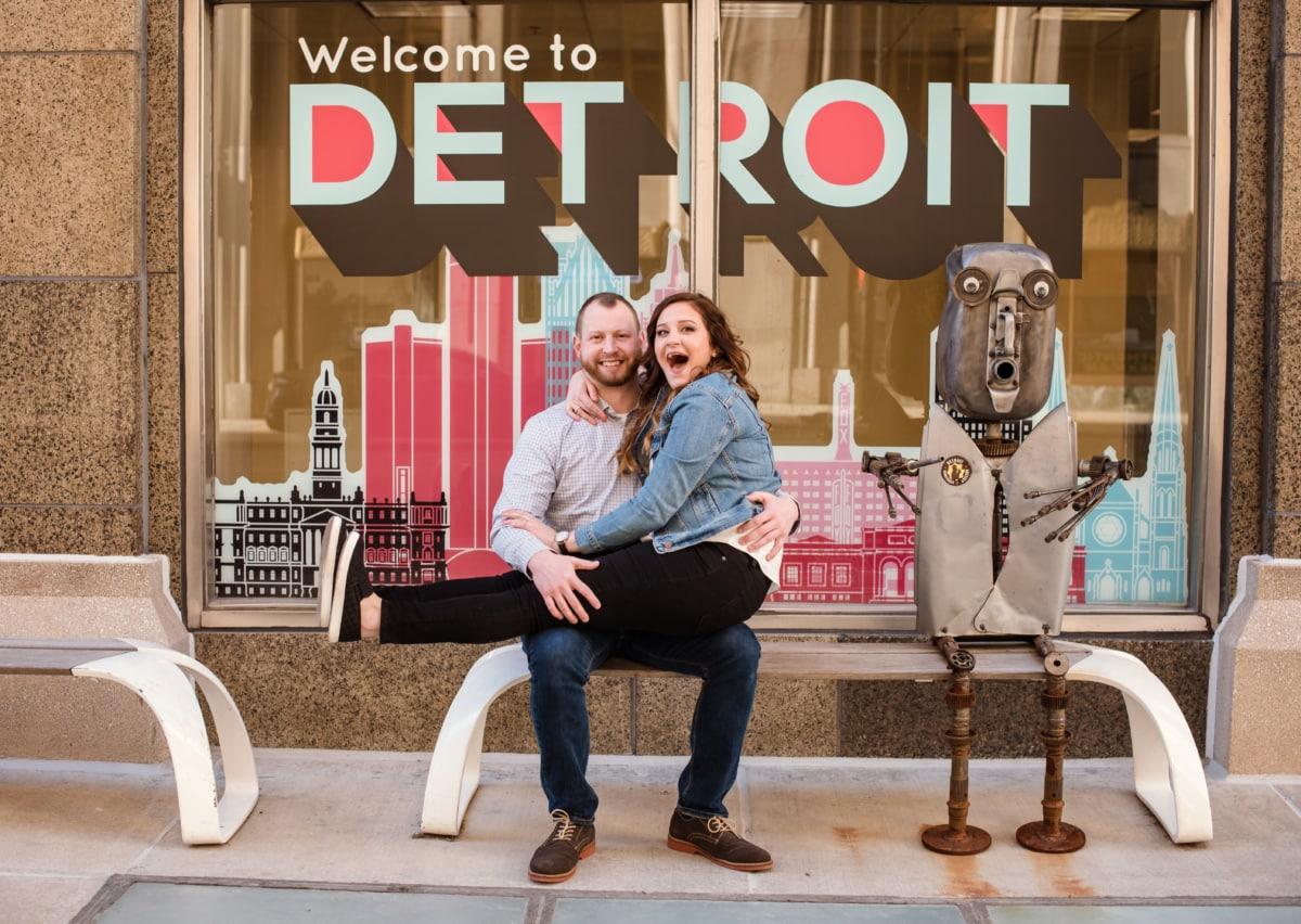 Downtown Detroit Engagement Photography Session-223