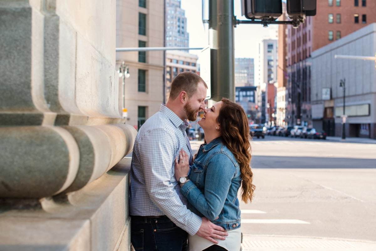 Downtown Detroit Engagement Photography Session-219