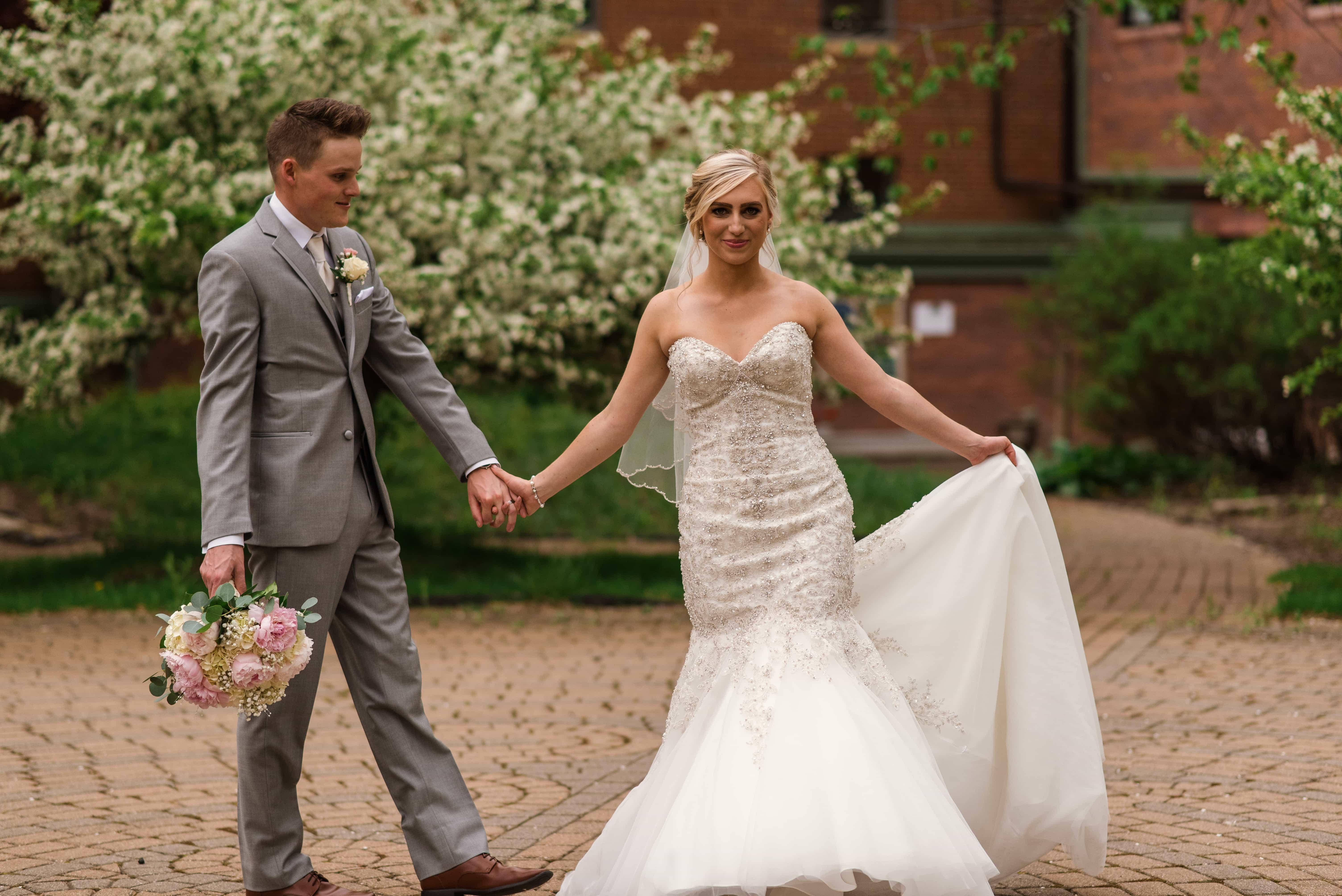 Nick and Andrea The Inn at St Johns Wedding Plymouth Michigan - 134