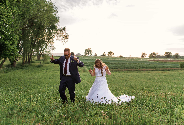 Emily and Adam Green Gardens Community Farm Wedding- 104